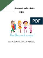 Caiet Optional Lb Franceza