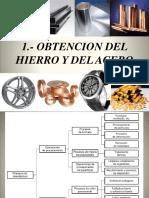 1.- Obtencion Del Hierro y El Acero (1)