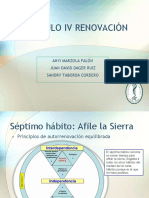 Capitulo IV Renovación