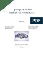 01. Le Passage Du Résultat Comptable Au Résultat Fiscal