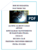 INFORME DE SOLDADURA 7018.docx