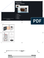Manual Microondas Bifinett