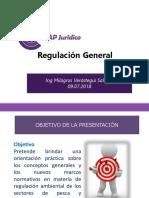 Regulación General 09 07 18