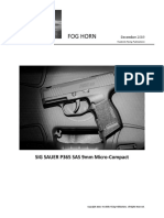 SIG SAUER P365 SAS - the ultimate deep concealment defensive CCW pistol