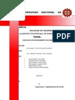 Práctica de Economía y Gestión Empresarial