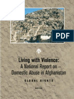 Living with Violence - A National Report on Domestic Violence in Afghanistan, Global Rights, 2008.pdf