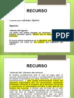 EXPOSICIÓN AGRAVIOS