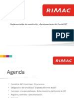 Funciones del Comite SST - DS 005 2012 DS 024 RIMAC.pptx