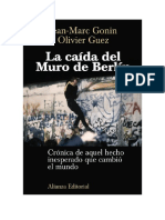 Gonin Jean Marc Y Guez Olivier - La Caída Del Muro de Berlín