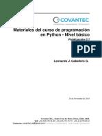 Python nivel básico.