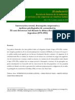 Lucas Iramain - Intervención Estatal, Desempeño Empresario y Ámbitos Privilegiados de Acumulación. El Caso Del Sector Vial Durante La Última Dictadura Militar en Argentina
