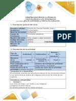Guía de actividades y rúbrica de evaluación -Tarea 3- La obra de arte como memoria