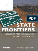 State Frontiers Borders and Boundaries