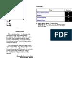Mazda 6 2003-2007 Engine Workshop Manual L8 LF L3