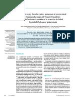 Antisépticos y desinfectantes- apuntando al uso racional. Recomendaciones del Comité Consu.pdf