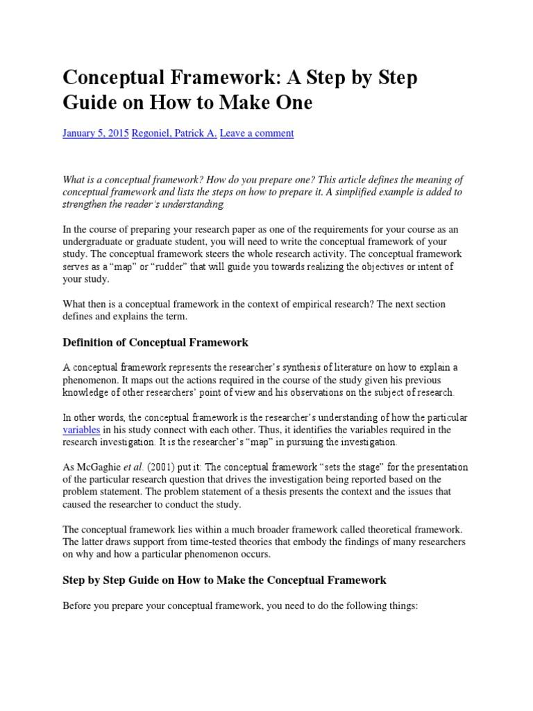 Conceptual Framework.docx | Conceptual Framework | Sleep