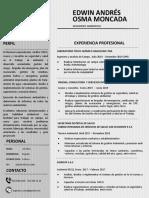 Curriculum Edwin Andres Osma Moncada