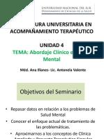 U4 Abordaje Clínico de la Salud mental.pptx