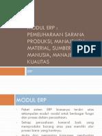 Modul ERP Manajemen Material Dan Pemeliharaan Sarana Produksi 2