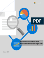 PowerApps and Flow Licensing Guide Oct 2019