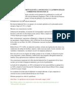 Problemas Fundamentales de La Sociologia y Las Prinncipales Corrientes Sociologicas