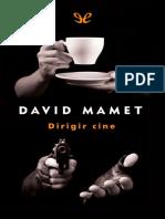 8576554 5545 Mamet, David - Dirigir cine.pdf