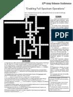 C4ISR Crossword