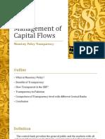 current flows