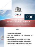 Presentación Marco de Concesiones Hospitalarias 2010-2014, MOP