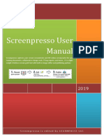 ScreenpressoHelp