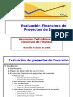 Evaluación Financiera de Proyectos de Inversión ACEF.ppt