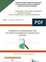 DIAGNÓSTICO EMPRESARIAL POR SECTORES ECONÓMICOS. MODELOS DE GESTIÓN.semana 10 al 15.pptx