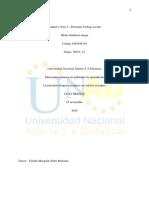 Unidad 3 Paso 3 - Presentar Trabajo Escrito