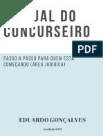 MANUAL DO CONCURSEIRO - EDUARDO GONÇALVES - 1. ED. 2019.pdf
