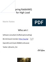 Spring RabbitMQ for High Load