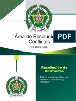 ABC AREA RESOLUCIÓN DE CONFLICTOS