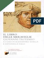 Giovanni Tritemio - Il libro delle meraviglie (2012).pdf