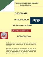 GEOTECNIA INTRODUCCION