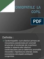 Cardiomiopatiile  la copil.pptx