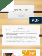 LEY 324 SEÑAS.pptx