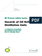 Hazards of Oil Refining Distillation Units