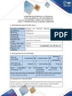 Guía de actividades y rúbrica de evaluación - Fase 4 - Planificación de la gestión ambiental.pdf