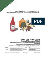 Tec. Frutas y Hortalizas