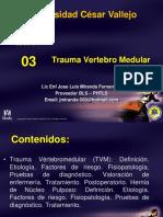 14 Trauma Veretebro Medular UCV 2019-II