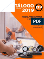 Zen Catalogo Tensores Polias e Kits de Distribuição 2019