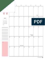 Planner Nmmf 2019 Mensal 11