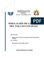 Simulacion de volcan