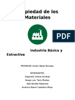 Industria Pesada Presentacion Escrita