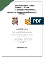 Cuestionario Energia Geotermica
