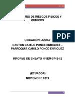 Informe Higiene Industrial